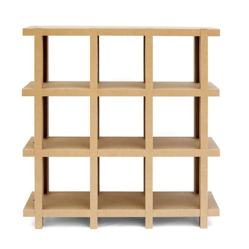 Tienda Ohm Bookshelf Cartonlab English Cartonlab English - Cardboard-bookshelves