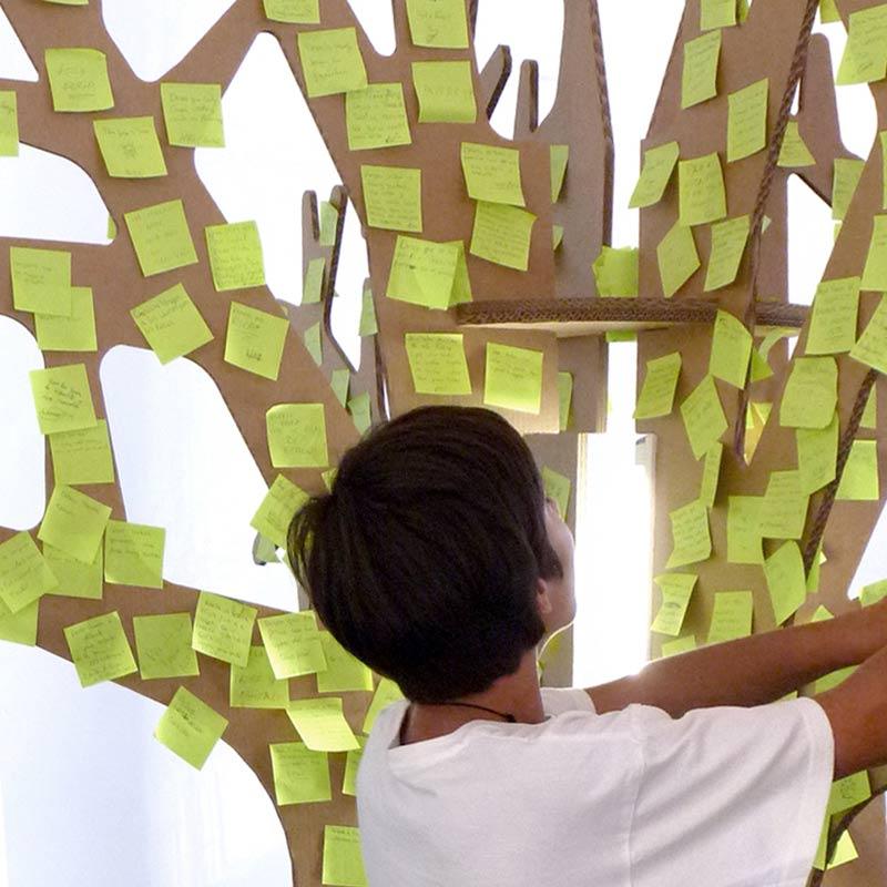 árbol de los deseos cartonlab feria albacete carton