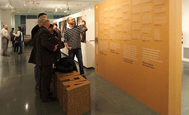 panel modular exposiciones carton