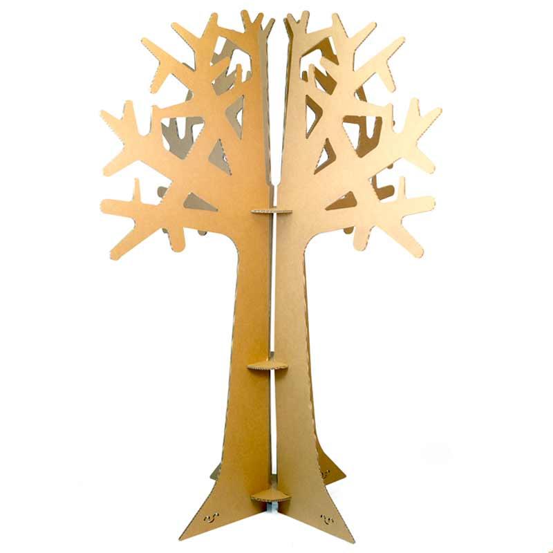 arbol carton cartonlab cardboard tree