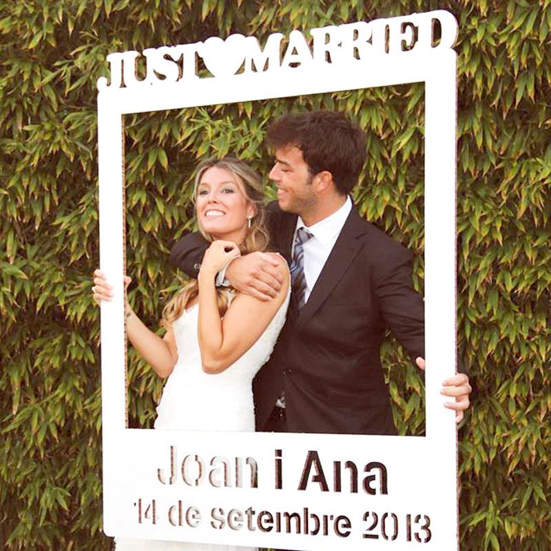 Tienda - Photocall Polaroid para bodas. Personalizado con tu nombre ...