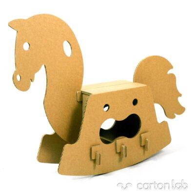 caballito carton cartonlab cardboard toy horse (2)