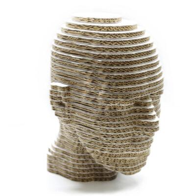 figuras corpóreas carton forma cabeza