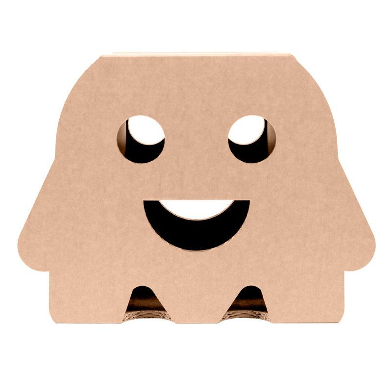 taburete sonrisa carton frontal
