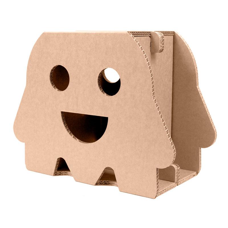 taburete sonrisa carton girado