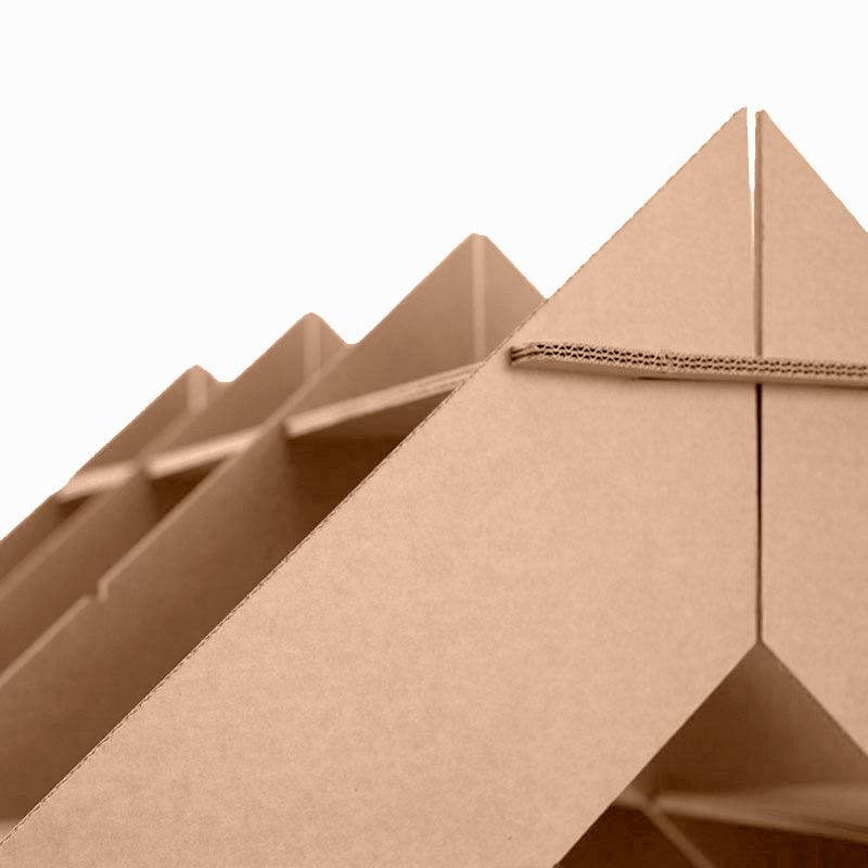 casita estanteria carton detalle