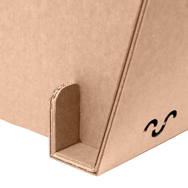 silla jara carton detalle union