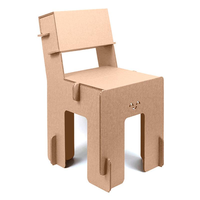 silla carton Taray girada