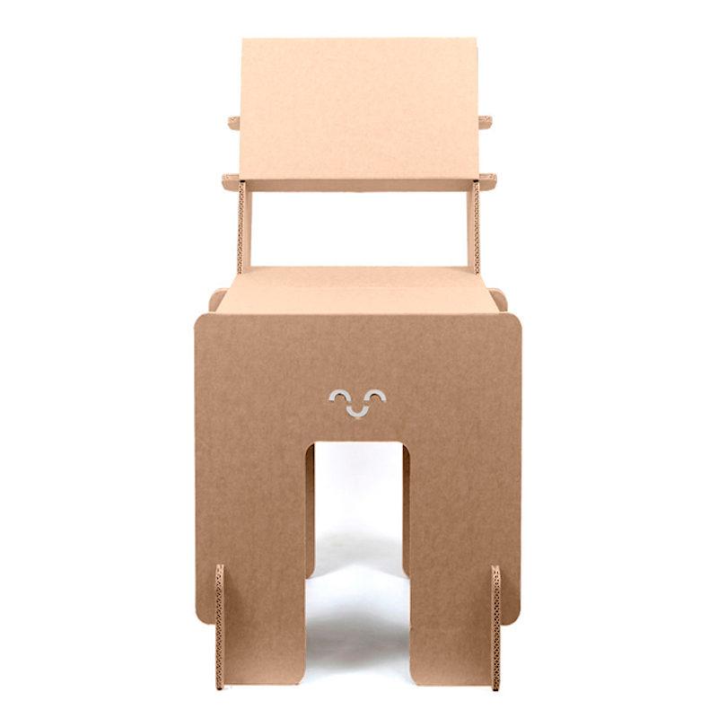 silla carton Taray frontal