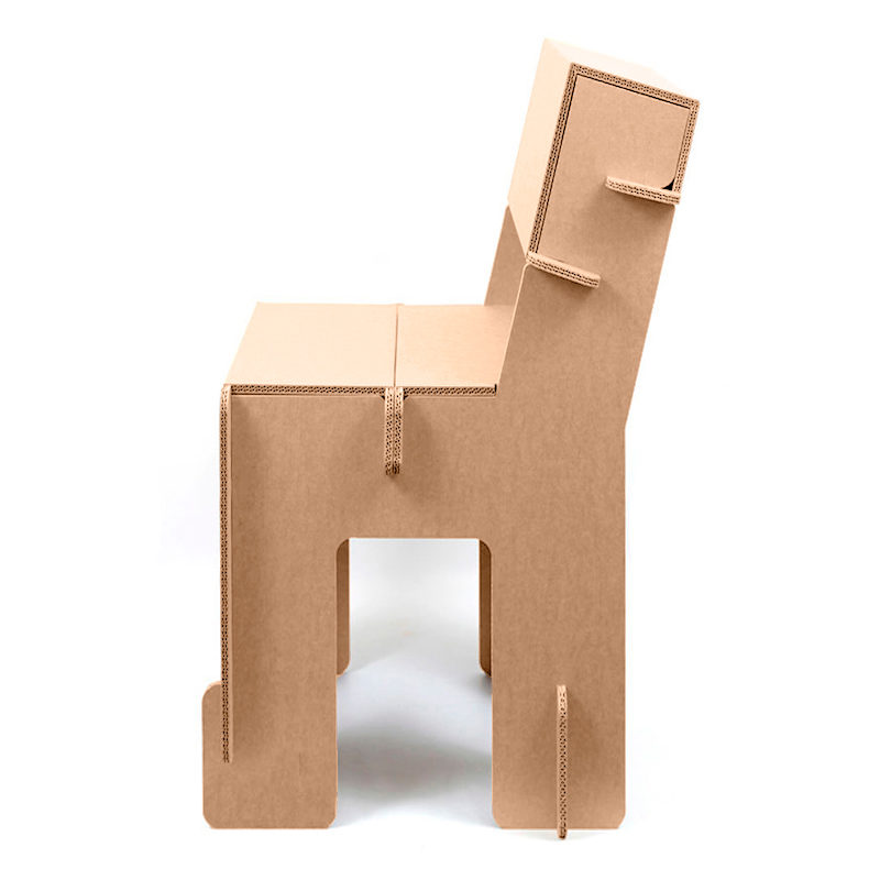 silla carton Taray lateral