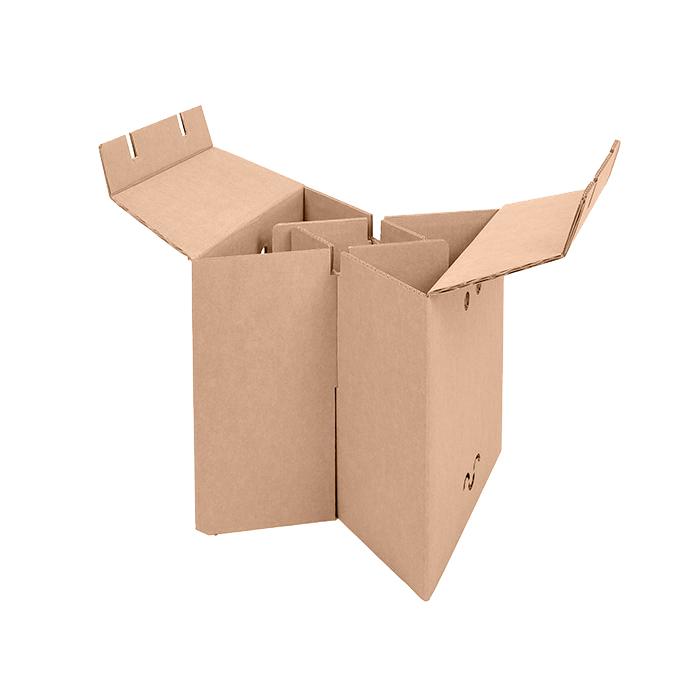 taburete carton resistente facil montar