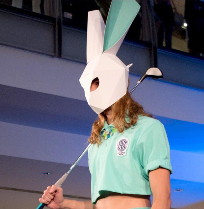 mascara conejo carton lasculpass 01