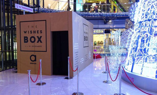 wishes-box-cartonlab-arenas-barcelona-stand-pabellón-cartón-01