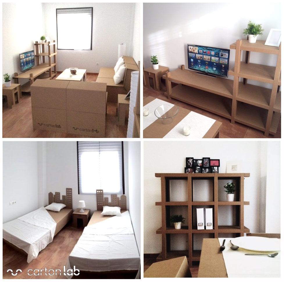 Home Staging Cardboard Furniture # Muebles Furniture