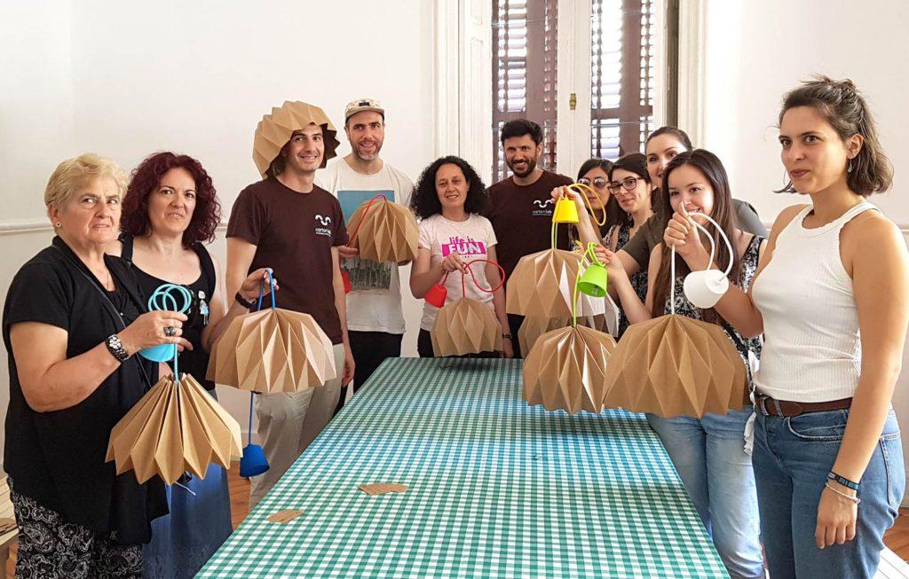 lamparas carton recycling market ecoembes cartonlab
