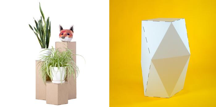 Diseño de exposiciones. Dos modelos de peanas.