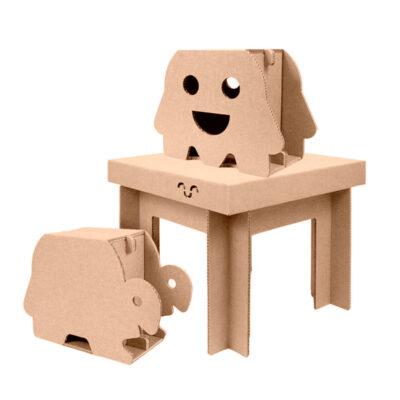 mesa pequeña infantil pack