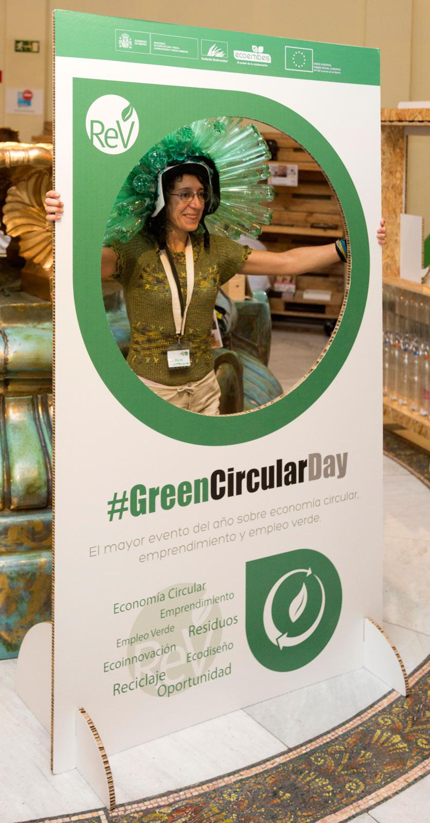 Photocall evento circular day