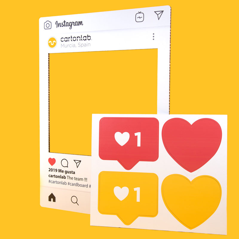 photocall instagram rotado
