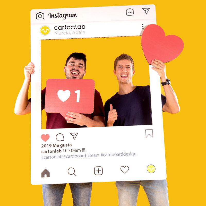 photocall instagram dúo