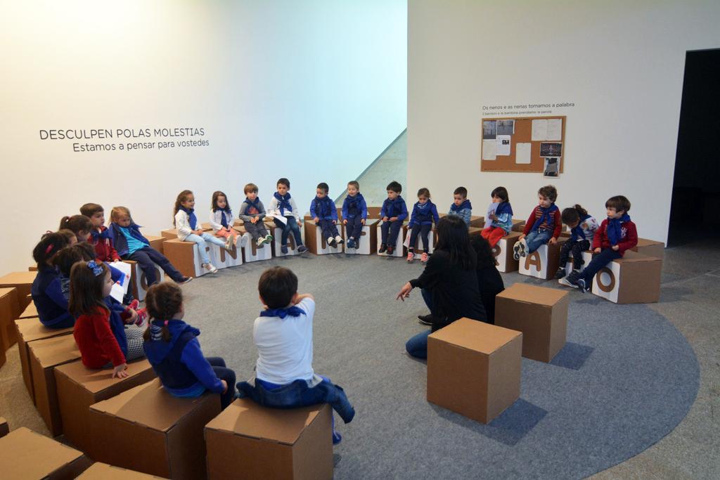 exposicion francesco tonucci pontevedra Imaxinar a Educacion 50 anos con Frato pedagogo pedagogia educativa educacion niños desarrollo