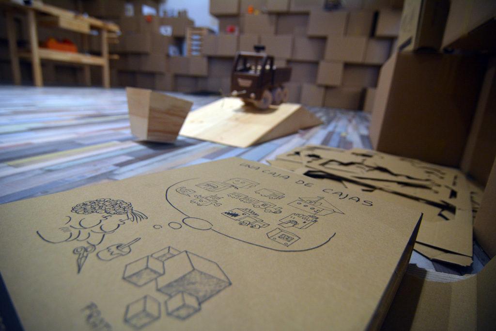 una caja de cajas juguete francesco tonucci exposicion