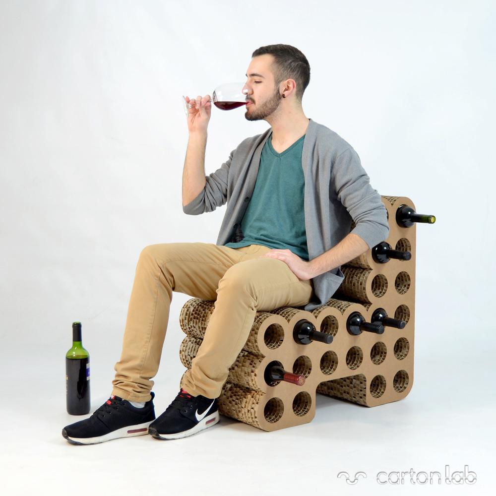 sillon-botellero-vino-expositor-cartonlab