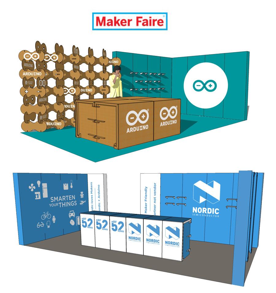 Arduino-Nordic-Makers-Faire-San-Francisco-stand-ecologico-carton-cartonlab