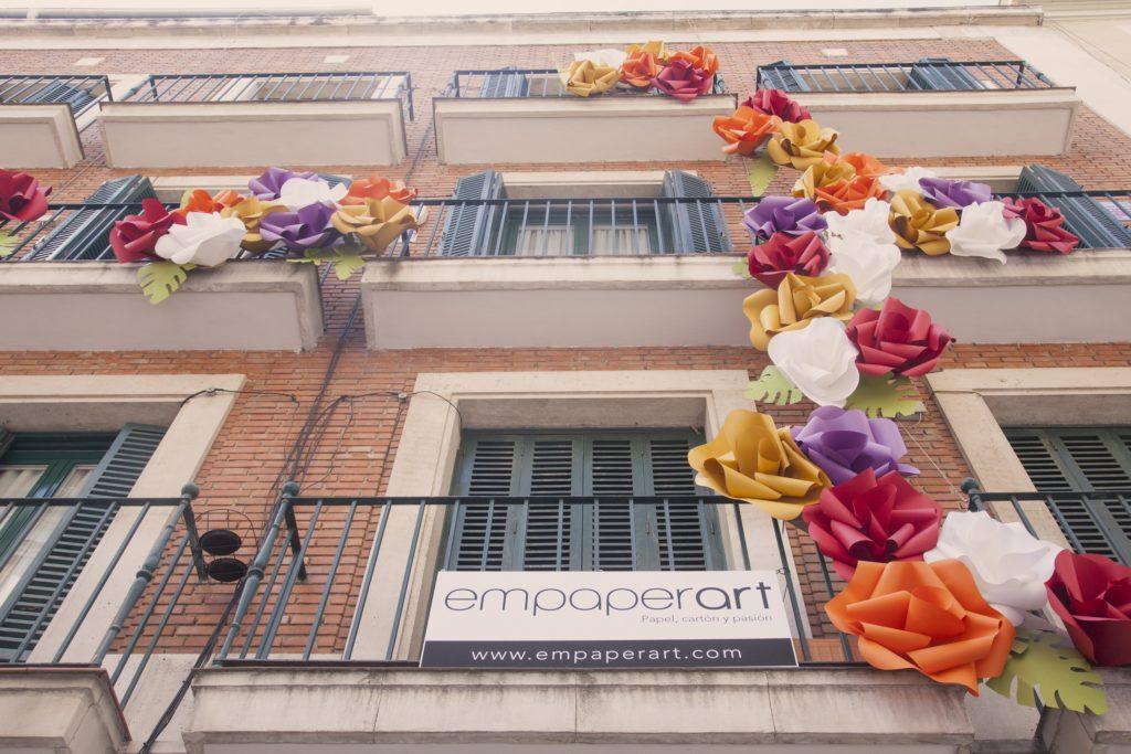 empaperart festival decoraccion cartonlab Diseño con carton en España