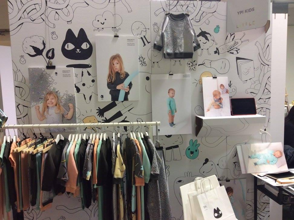 stand little barcelona 2 Ypi kids wear slow fashion moda sostenible feria evento