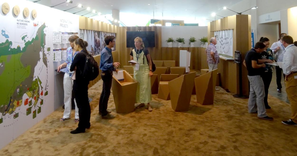 congreso-medio-ambiente-cartonlab-iucn-pabellón ruso