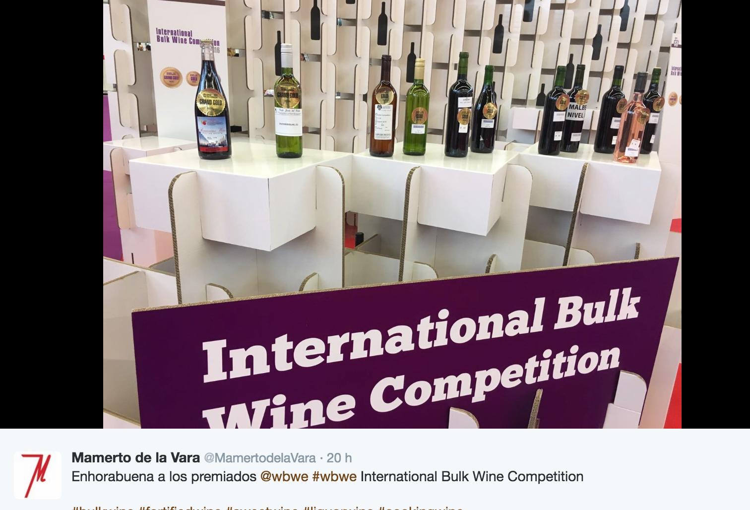 world bulk wine exhibition 2016 modular cardboard design stand para feria de vino