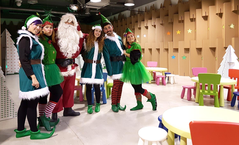 decoración navideña en centro comercial habaneras torrevieja fabrica de los sueños