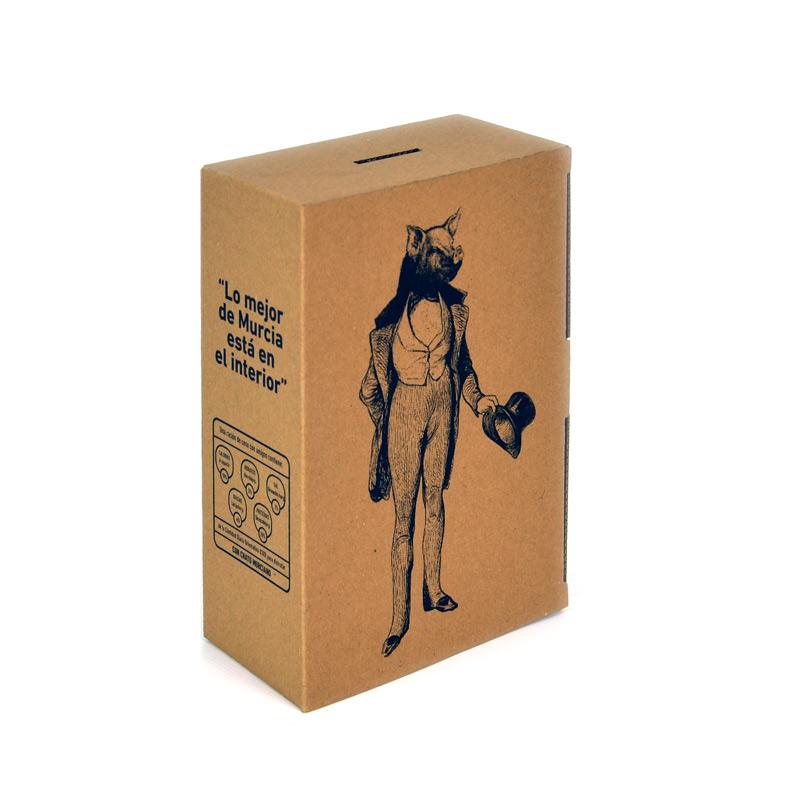 Packaging reutilizable para hucha