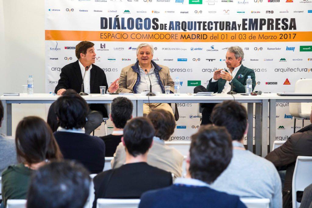 dialogos de arquitectura y empresa espacio comodoro madrid