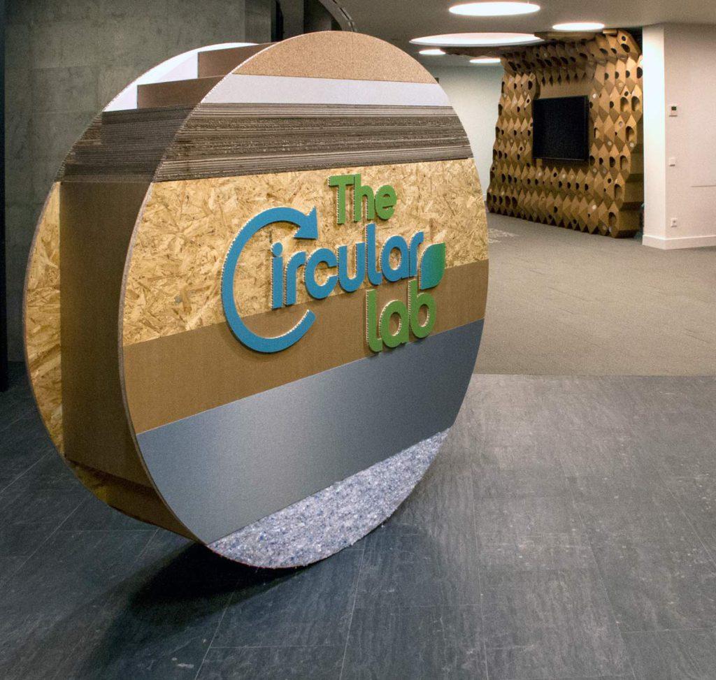 the circular lab ecoembes logroño corporeo entrada materiales reciclados