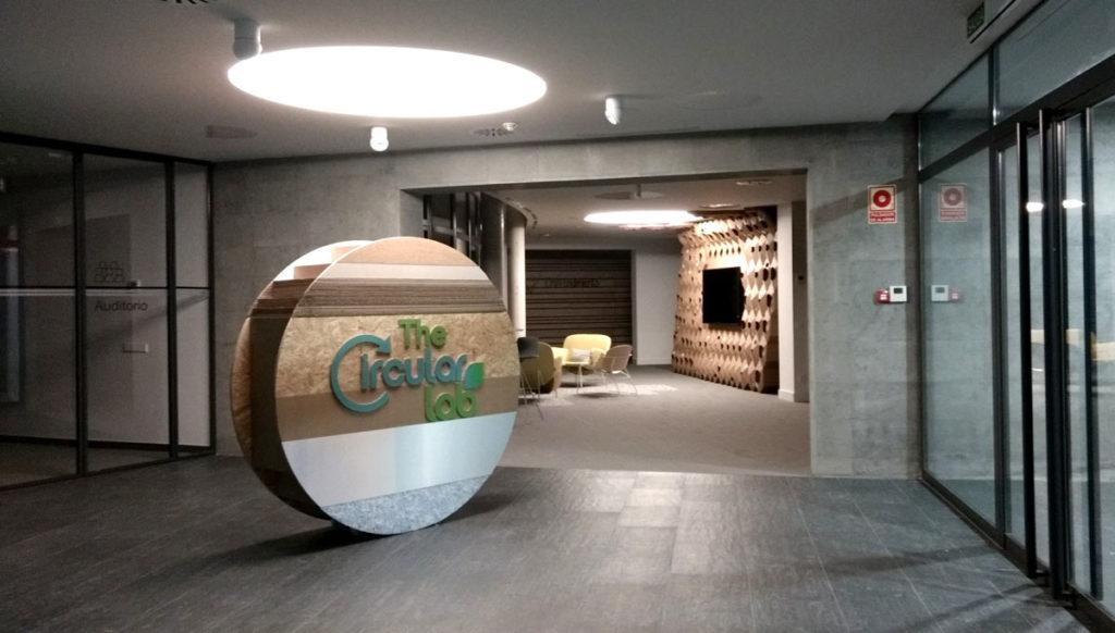 the circular lab ecoembes logroño corporeo circulo recibidor entrada