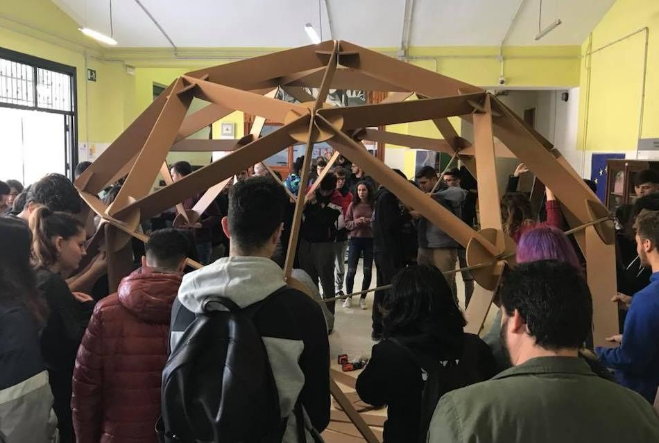 evento taller construccion cupula