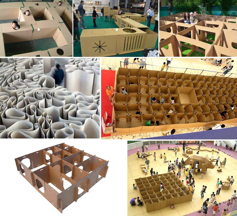 laberintos de carton otros diseños y referencias