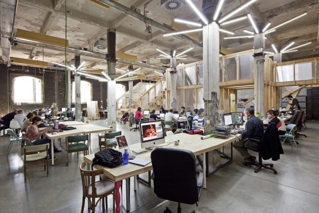 factoria cultural vivero de industrias creativas madrid murcia sevilla