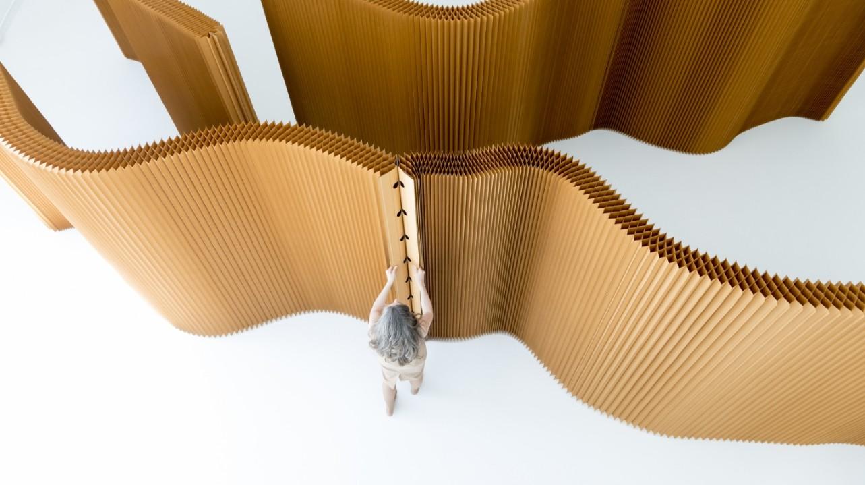 biombo plegable molo carton