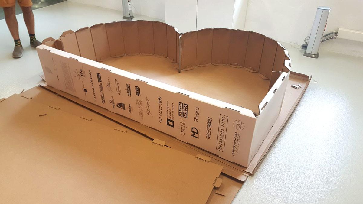 diseño estructural corporeo carton