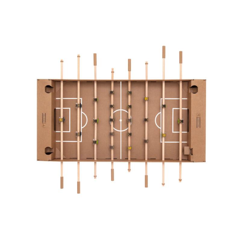 futbolin cartón espacio creativo cartonlab