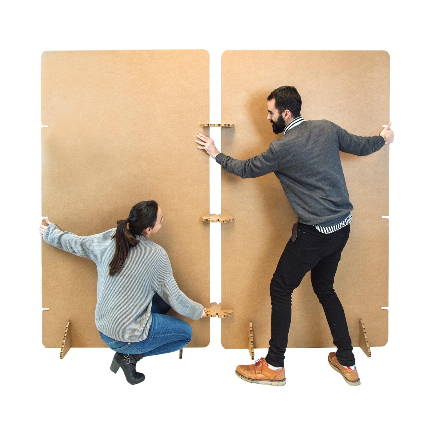 panel exposiciones facil montaje cartonlab
