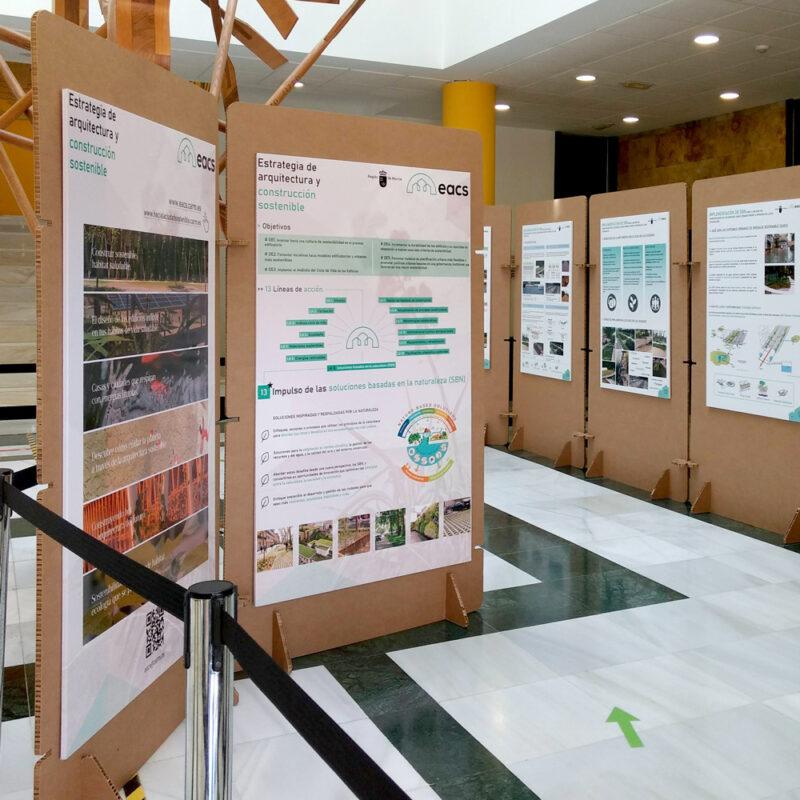 Paneles expositivos San Javier