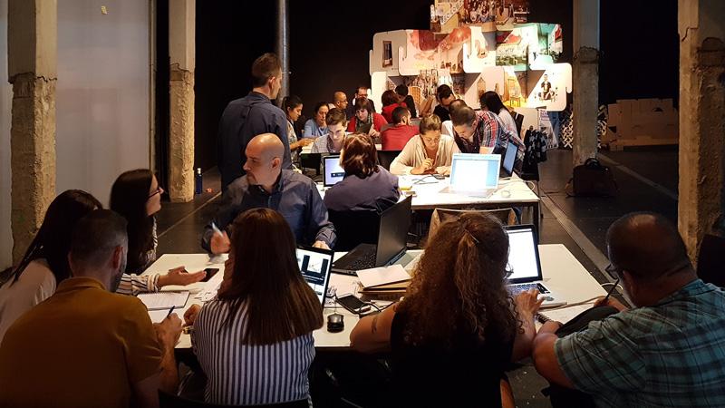 Participantes del  curso de Cartonlab