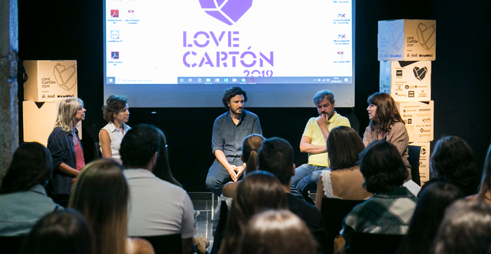 Mesa redonda del último día de Love Cartón