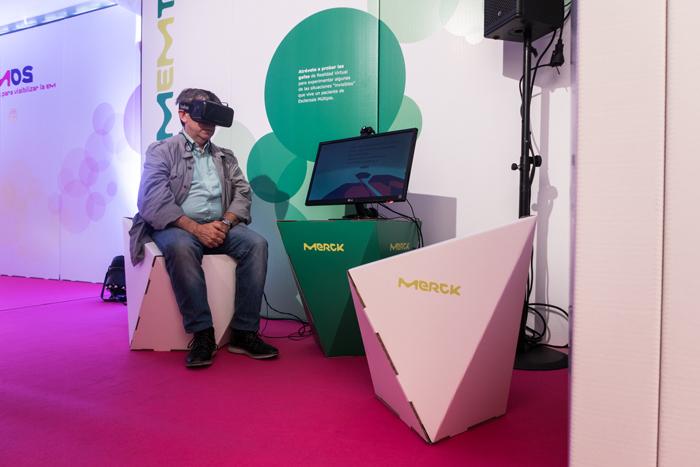 Mobiliario faceta en diseño para campaña de concienciación