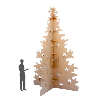árbol de navidad gigante ecológico
