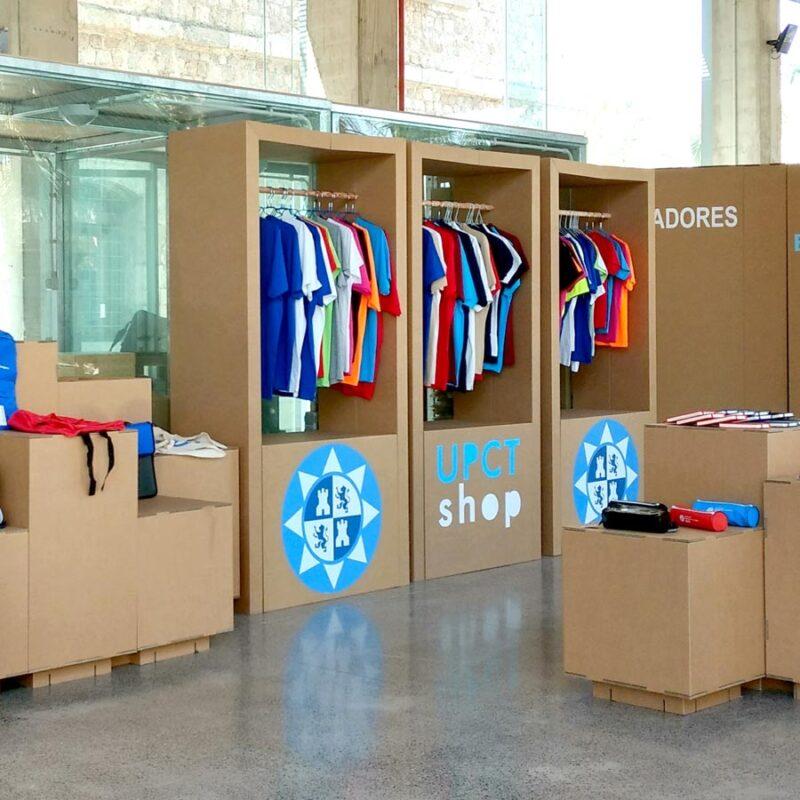 mobilario tienda ropa armario